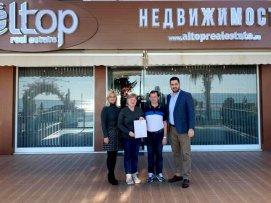 Отзыв о компании ALTOP Real Estate  от семьи Шмидт из Германии