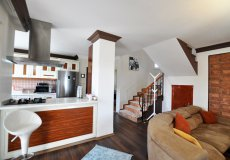 Two-storey villa 4 + 1 with sea view in Alanya - 18