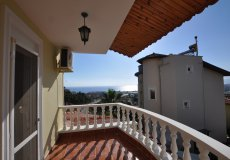 Two-storey villa 4 + 1 with sea view in Alanya - 32