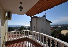 Two-storey villa 4 + 1 with sea view in Alanya - 33