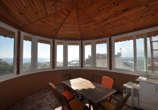 Two-storey villa 4 + 1 with sea view in Alanya - 36