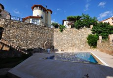 Two-storey villa 4 + 1 with sea view in Alanya - 10