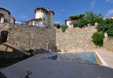 Two-storey villa 4 + 1 with sea view in Alanya - 9