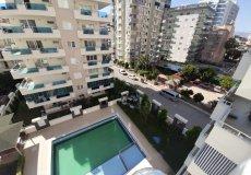 Трехкомнатная квартира с видом на бассейн в Алании - 17