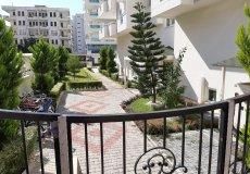 Трехкомнатная квартира с видом на бассейн в Алании - 5