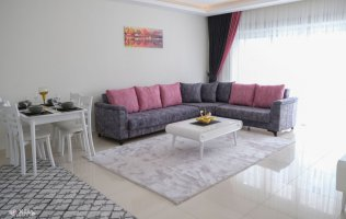 Уютная меблированная квартира в Алании