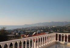 Furnished villa with sea views in Alanya, Kargicak – 22