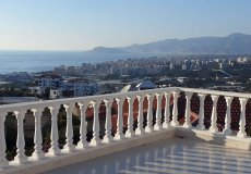 Furnished villa with sea views in Alanya, Kargicak – 23