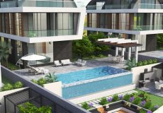 6+1 villa for sale, 315 m2, 3000m from the sea in Kargicak, Alanya, Turkey № 4945 – photo 3