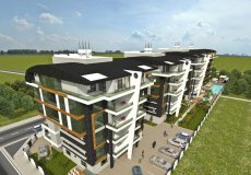 1+1, 2+1, 3+1, 4+1 development project 850m from the sea in Oba, Alanya, Turkey № 4954 – photo 8