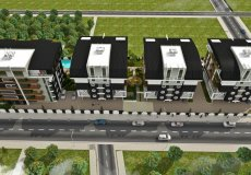 1+1, 2+1, 3+1, 4+1 development project 850m from the sea in Oba, Alanya, Turkey № 4954 – photo 7