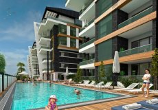 1+1, 2+1, 3+1, 4+1 development project 850m from the sea in Oba, Alanya, Turkey № 4954 – photo 1